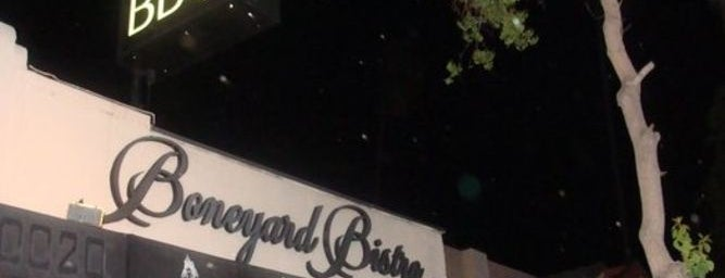Boneyard Bistro is one of The LA Weekly Happy Hour Guide!.