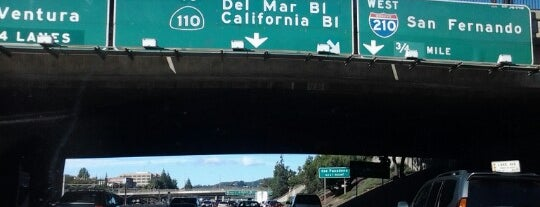 CA-134 / I-210 Freeway Interchange is one of Places to check -in to.