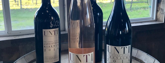 Unti Vineyards is one of Beyond the Peninsula.