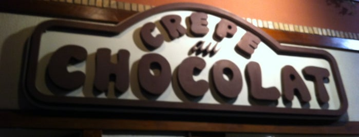 Crepe au Chocolat is one of Restaurantes.
