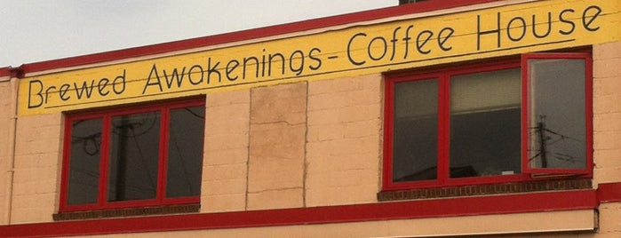 Brewed Awakenings is one of Top 10 places to try this season.