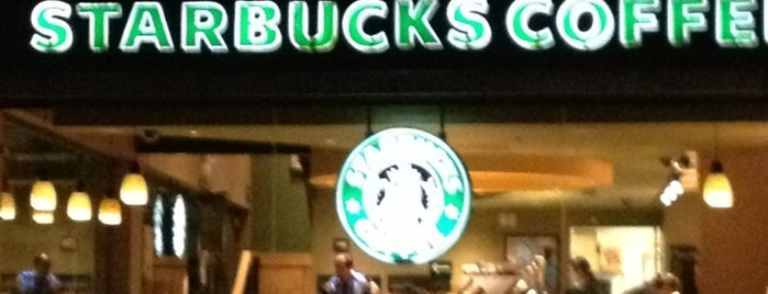 Starbucks is one of Bebidas..
