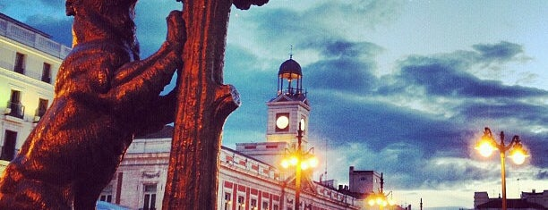 Puerta del Sol is one of Madrid.