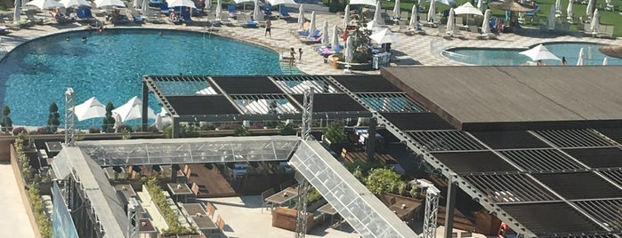 Voyage Sorgun Hotel Beach is one of Antalya 6.