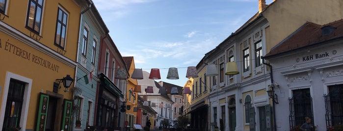 Szentendre is one of kedvenc helyek.