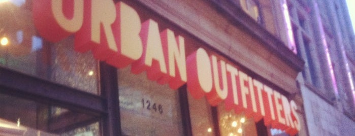 Urban Outfitters is one of Montréal.