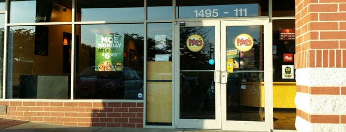 Moe's Southwest Grill is one of Six Pack Hot Spots.