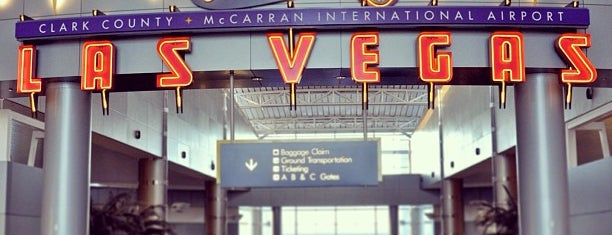 McCarran International Airport (LAS) is one of Ferias USA 2012.