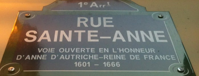 Rue Sainte-Anne is one of Paris // For Foreign Friends.