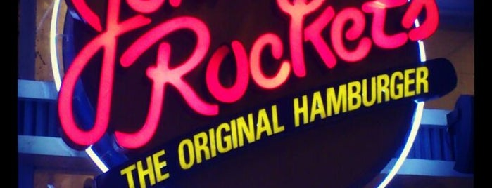 Johnny Rockets is one of Great places for everything.