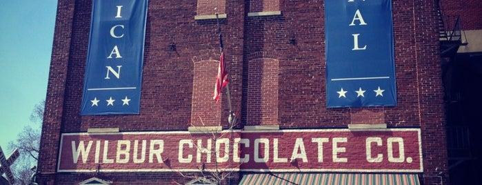 Wilbur Chocolate Candy Americana Store & Museum is one of Factory Tours.