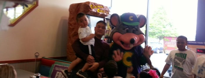 Chuck E. Cheese's is one of Visited Here.