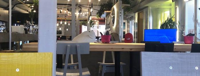 Josh.cafe is one of Поесть в СПб.