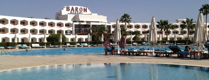 Baron Resort Sharm el Sheikh is one of Be Charmed @ Sharm El Sheikh.