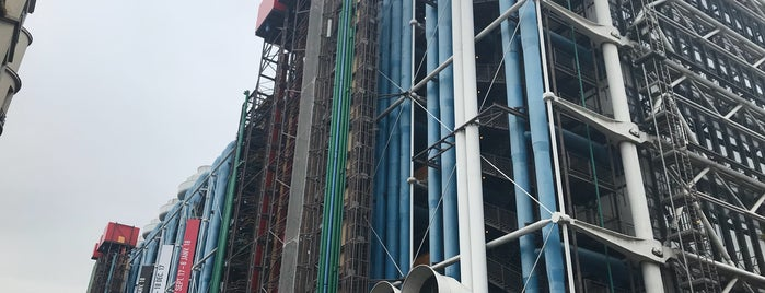 Parking Georges Pompidou is one of Paris.