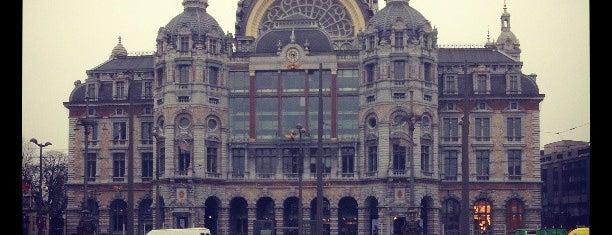 Koningin Astridplein is one of Antwerpen.
