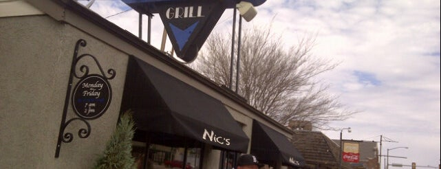 Nic's Grill is one of Diners, Drive-Ins, and Dives- Part 2.
