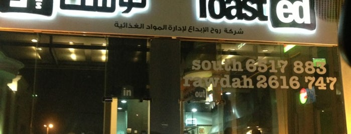 Toasted is one of Jeddah.
