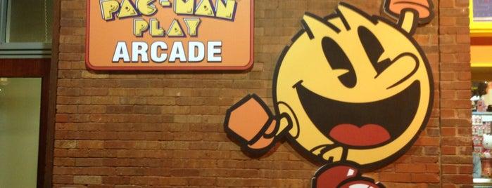 PAC-MAN PLAY™ Arcade at Underground Atlanta is one of Arcades.