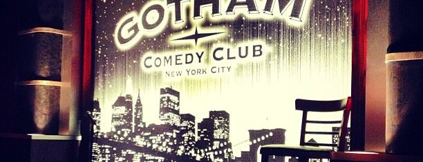Gotham Comedy Club is one of Waldo NYC: New York City for Teens.