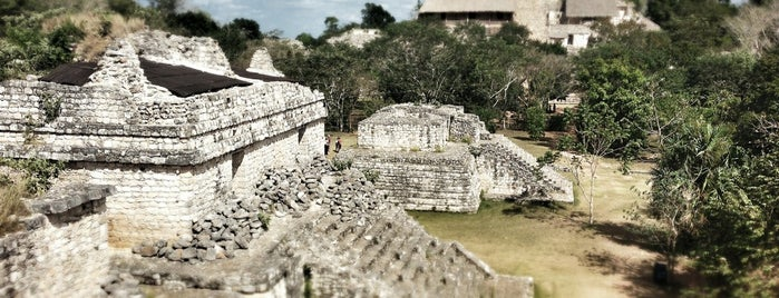 Zona Arqueológica Ek Balam is one of Mexico // Cancun.