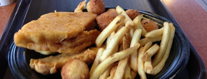 Long John Silver's / A&W All American Good is one of Fast Food.