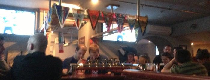Union Jack is one of Попить пива.