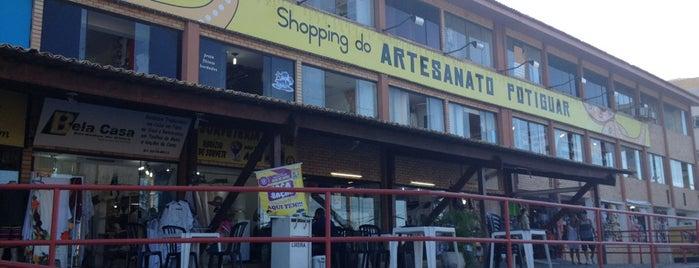 Shopping do Artesanato Potiguar is one of Lugares que já visitei!.