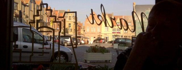 De Markt is one of De kustroute van De Standaard Magazine.