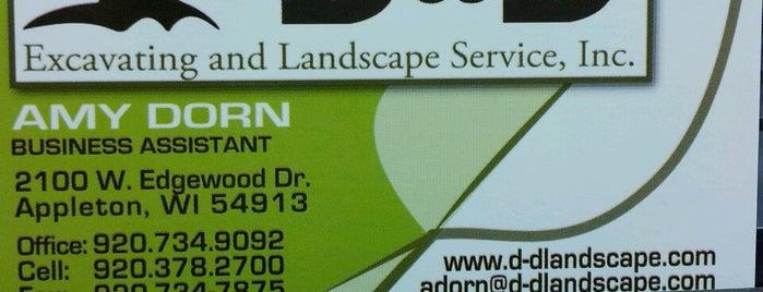 D & D Excavating & Landscape Service, Inc. is one of My places.