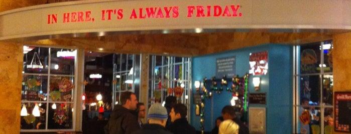 TGI Fridays is one of Food & Drinks.