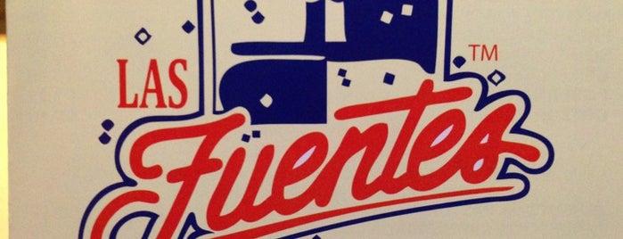 Las Fuentes is one of California's Top 20 Burrito Places.