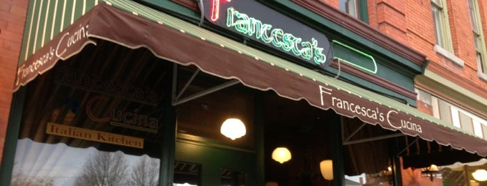 Francesca's Cucina is one of Syracuse's Northside Guide.