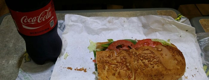 Subway is one of Must-visit Food Around Forty Duece.