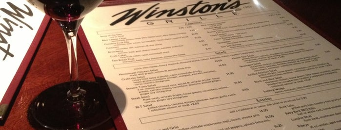 Winston's Grille is one of The 15 Best Places for Desserts in Raleigh.