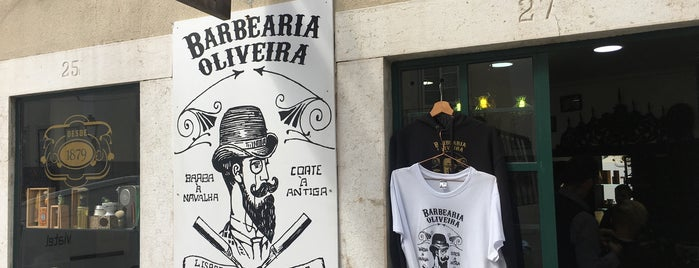 Barbearia Oliveira is one of Lissabon.