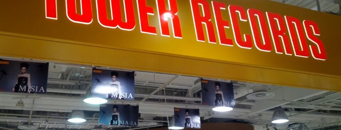 TOWER RECORDS 梅田NU茶屋町店 is one of Kansai.