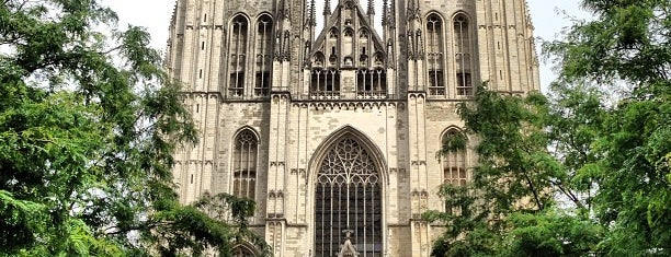 Cathedral of St. Michael and St. Gudula is one of Brussels Sightseeing.