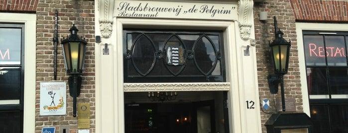 Stadsbrouwerij-Restaurant De Pelgrim is one of Rotterdam.