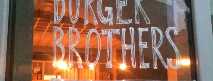 The Burger Brothers is one of moscow interesting restaurants.