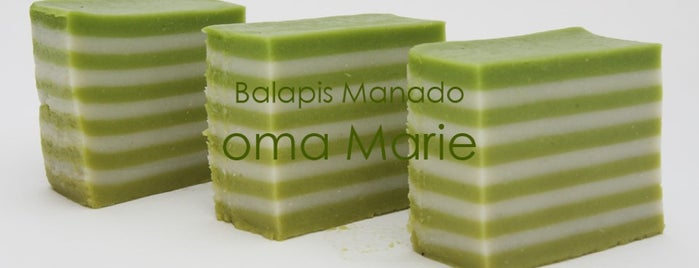 Balapis Manado oma Marie is one of Baker Dozen Badge in Jakarta.
