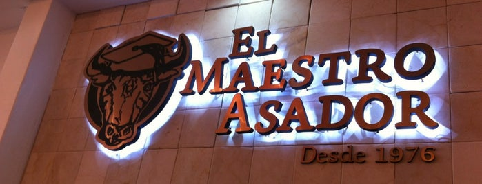 El Maestro Asador is one of Restaurantes Veracruz.