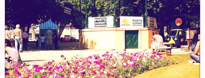 Jardim do Passeio Alegre is one of Porto.