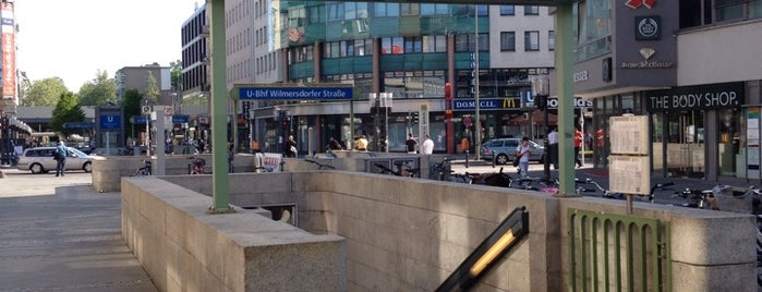 U Wilmersdorfer Straße is one of Besuchte Berliner Bahnhöfe.