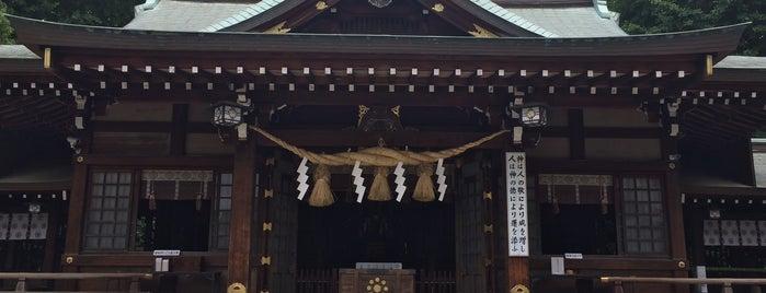 出水神社 is one of 神社.