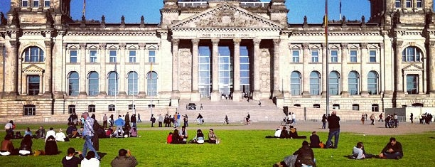 Reichstag is one of Berlin, Germany.