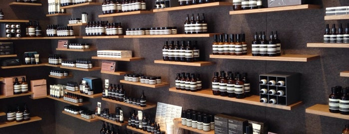 Aēsop is one of Best NYC Beauty Shopping.
