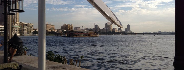 El Kebabgy at Sofitel Cairo El Gezirah is one of Cairo's Best Spots & Must Do's!.