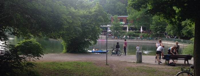 Badestelle Schlachtensee is one of Best sport places in Berlin.