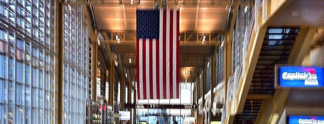 Ronald Reagan Washington National Airport (DCA) is one of Places to Shop.